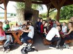 Klasa 3b w parku linowym