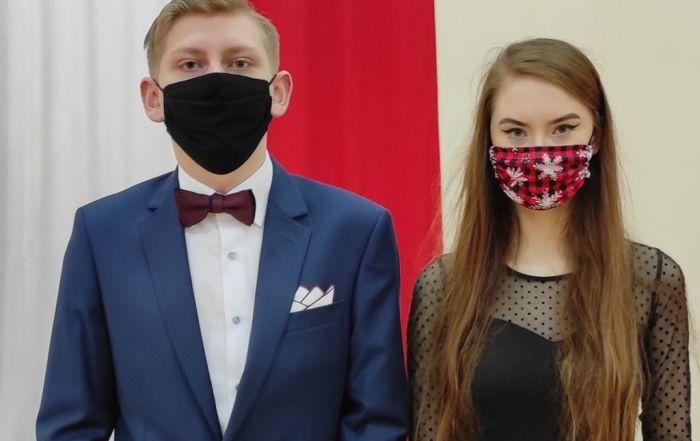 Na zdjęciu Diana Kędziora i Kacper Janus - stypendyści Prezesa Rady Ministrów