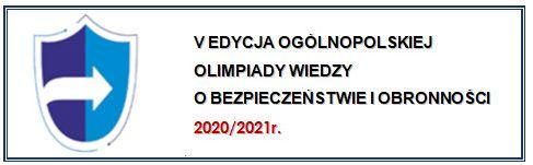 Logo V eycji Ogólnopolskiej Olimpiady Wiedzy o Bezpieczeństwie i Obronności