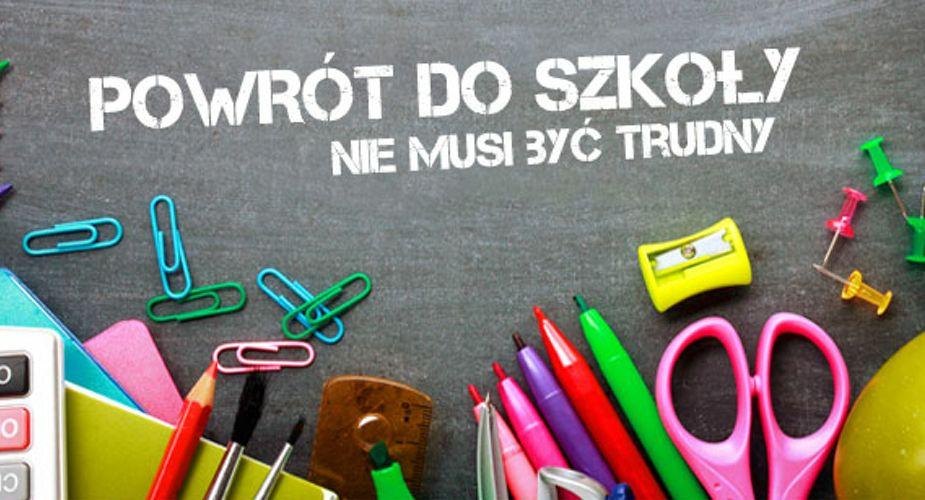 Plakat - Powrót do szkoły nie musi być trudny